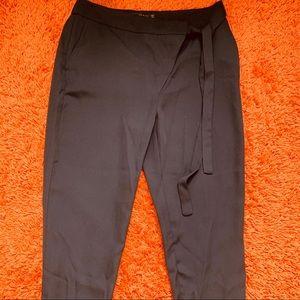 Zara dress pants with tie